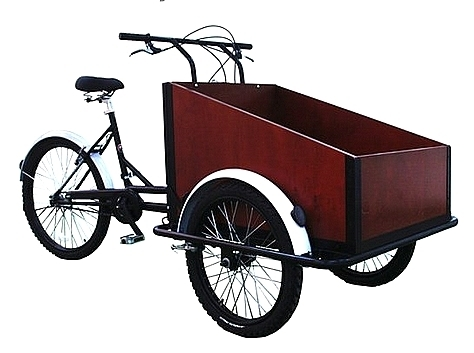 BOXTER DLX Tricycle Cargo Bike