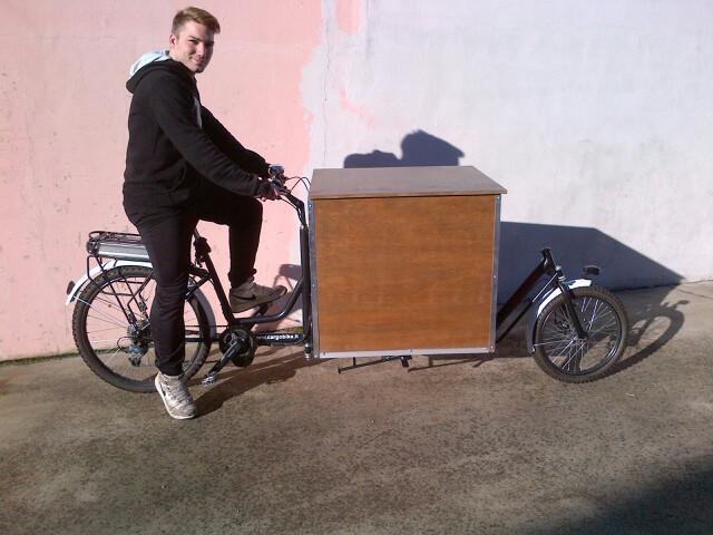 bullitt cargo bike frame kit
