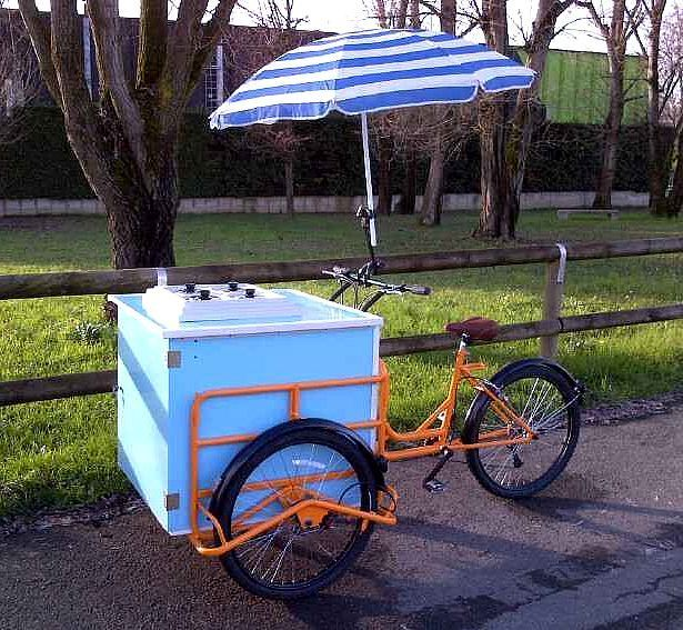 PONY LITTLE ICE CREAM CART 4 FLAVORS  220 Volt