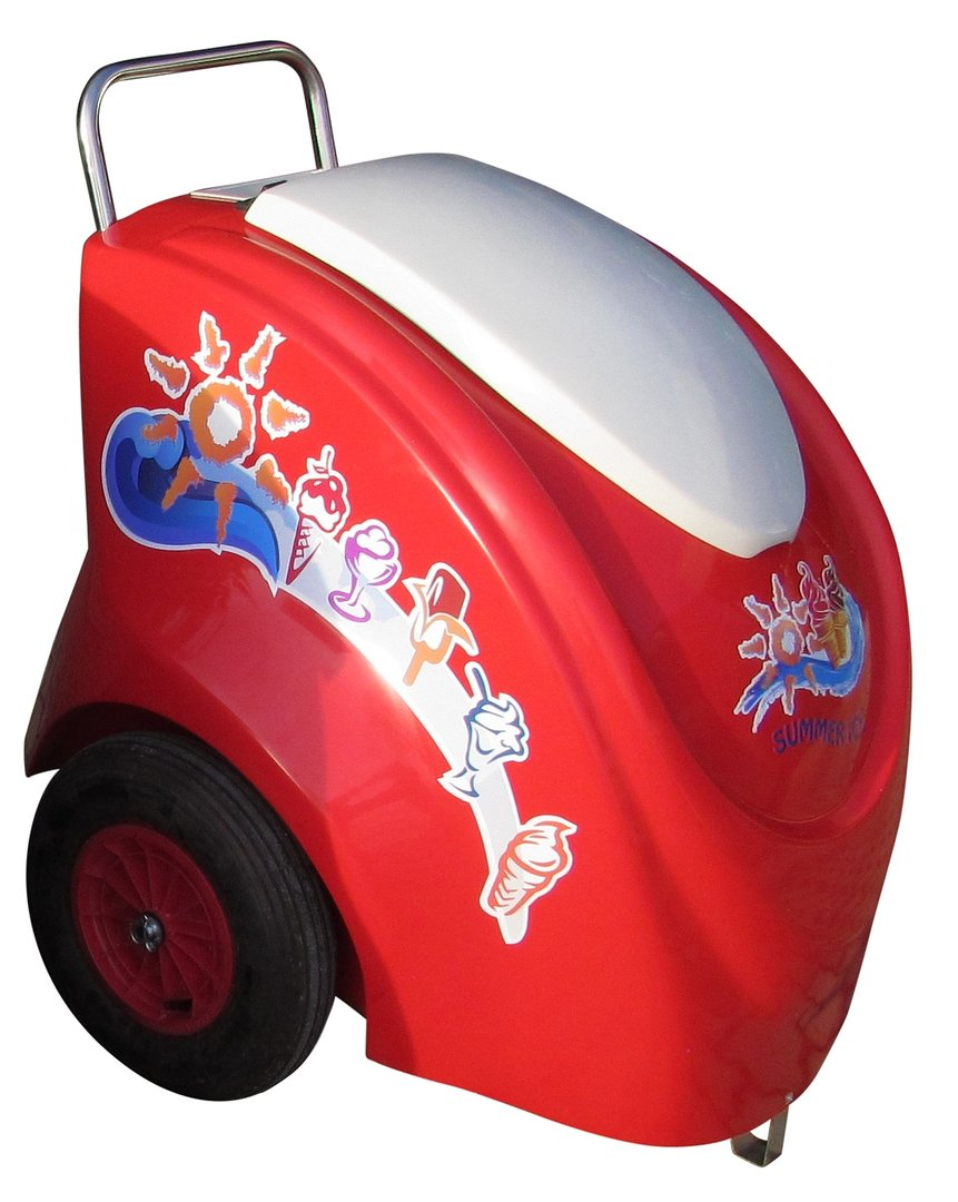 ICE CREAM PUSH CART