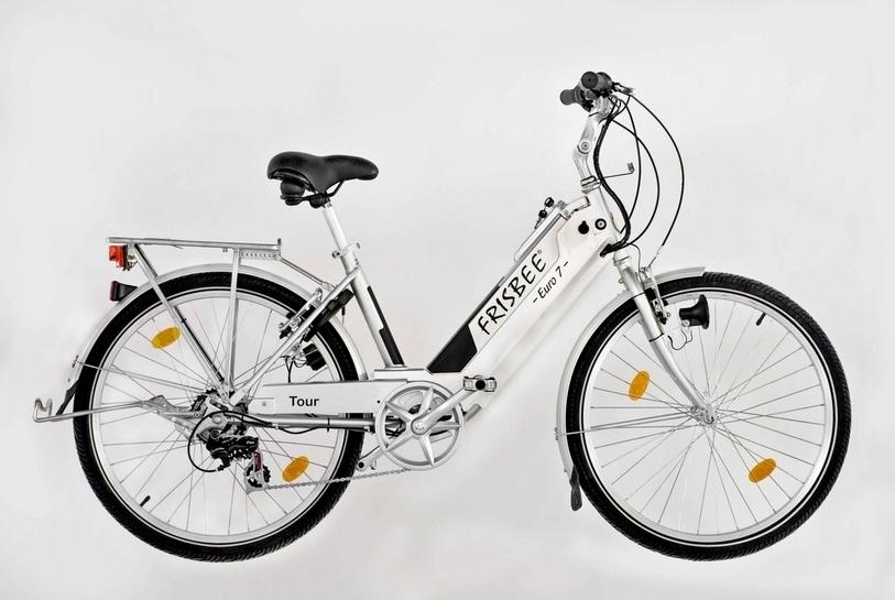 Frisbee euro 7 tour bicicletta elettrica da esposizione usata for Bici pieghevole elettrica usata