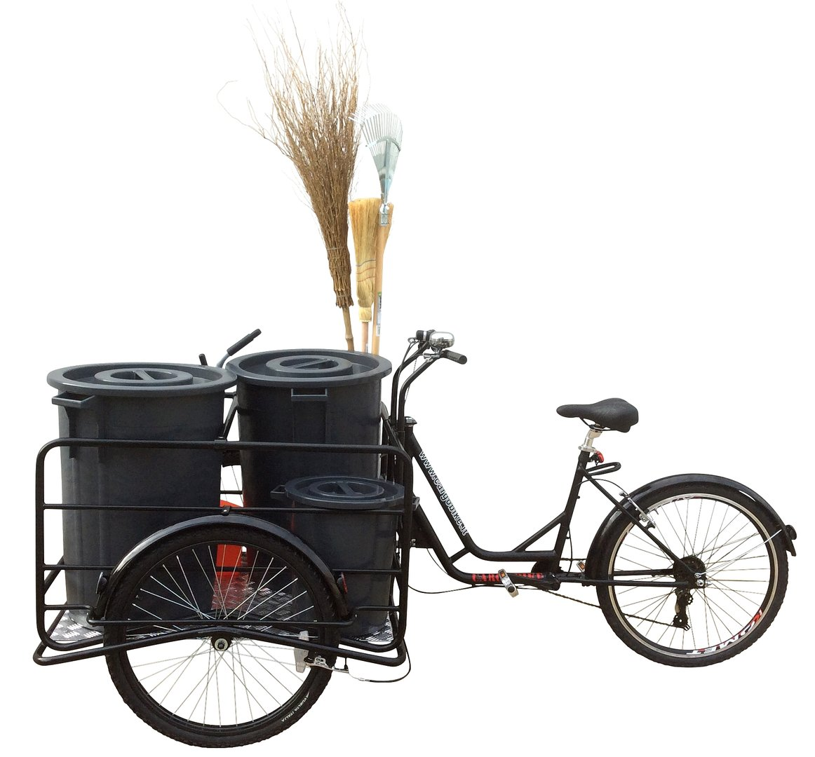 Tricycle Carry Bins TITAN 240