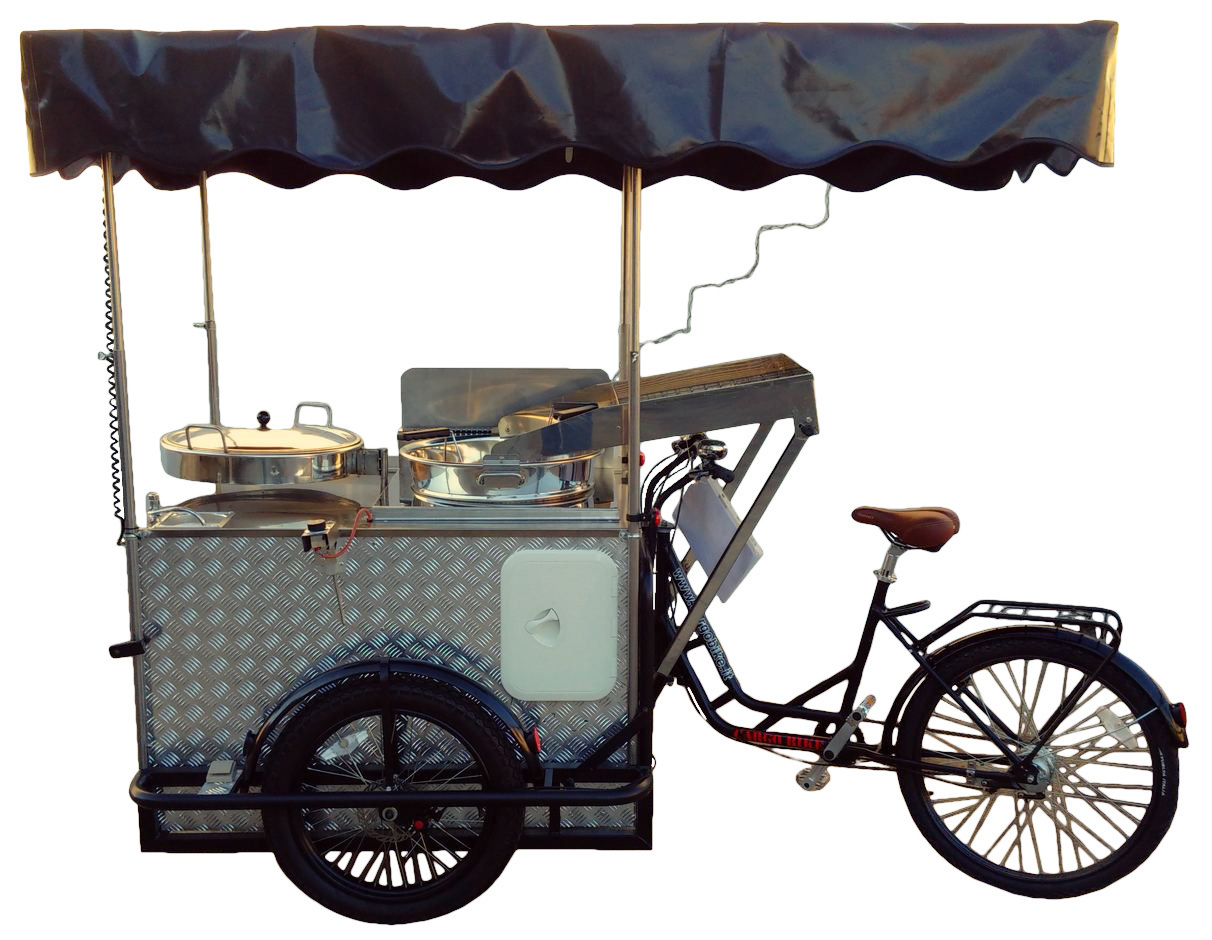 FRYER - ROAST CHESTNUT CART Tricycle