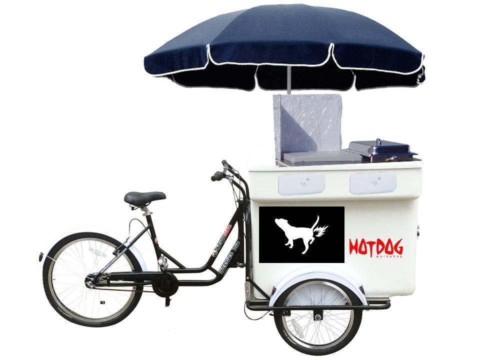 HOT DOG CART BIKE SPEEDY NORDIK