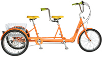 ELECTRIC TANDEM TRICYCLE