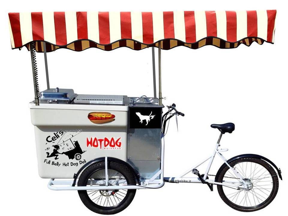 HOT DOG CART BIKE SPEEDY XL ALCOOL E CARTRIDGE