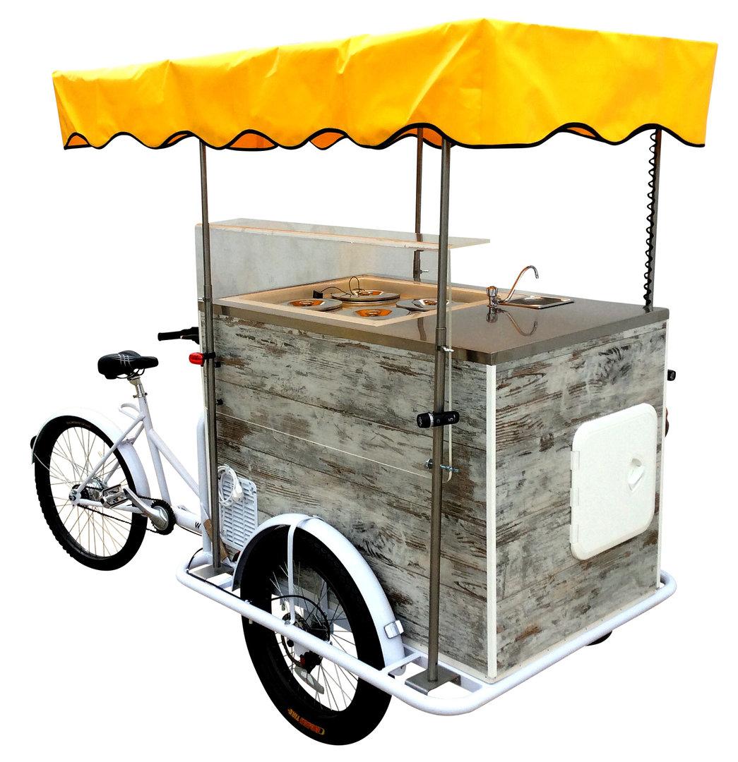 Vintage Ice Cream Cart 3