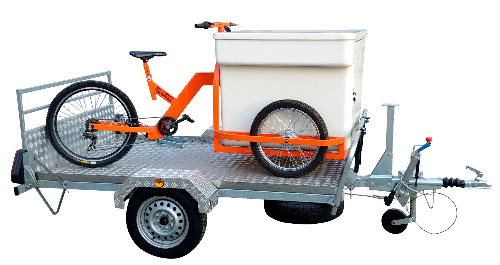 RIMORCHIO PORTA TRICICLO per Auto per Spostare i Tricicli b8d49e31ffef2