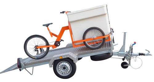CAR TRAILER FOR TRICYCLE
