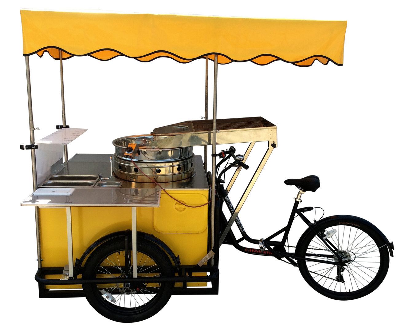 FRYER CART Tricycle