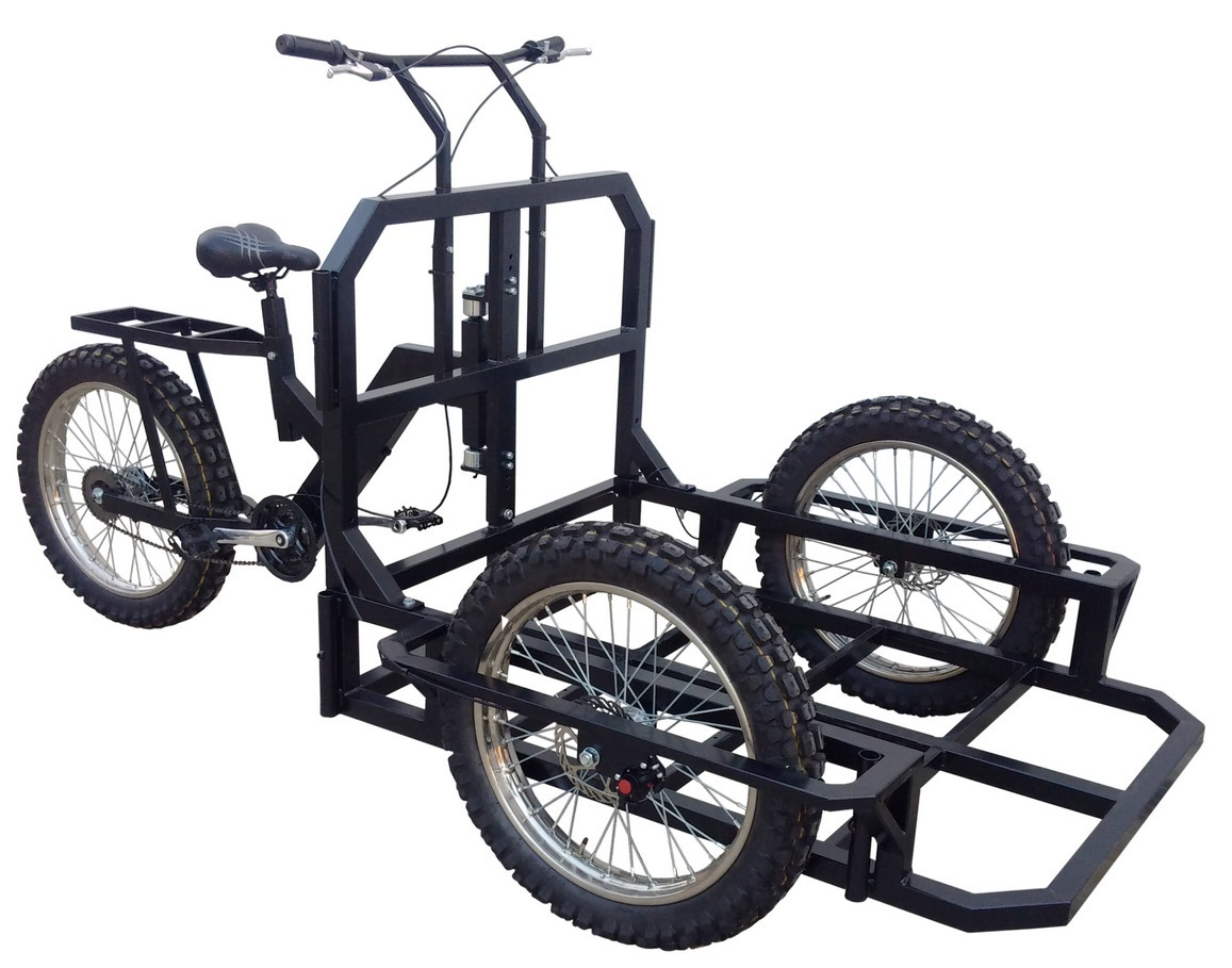 Attila Work Tricycle Cargo Bike Heavy Duty To Built Carts