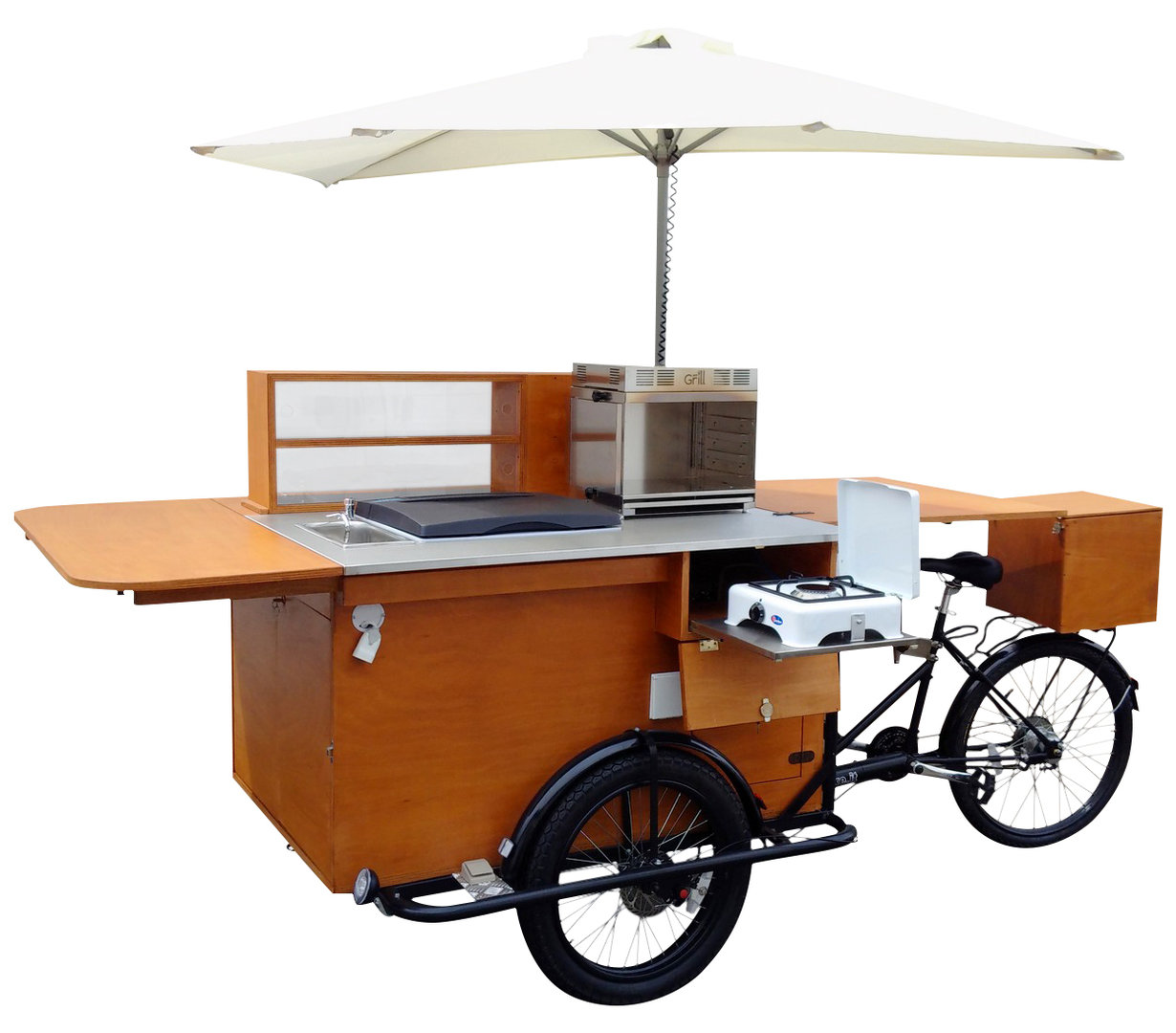 STREET FOOD BIKE PASTRY mobile