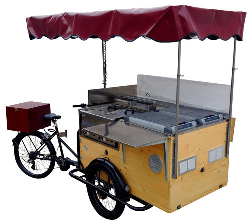 STREET FOOD BIKE QUADRA LEGNO BASIC