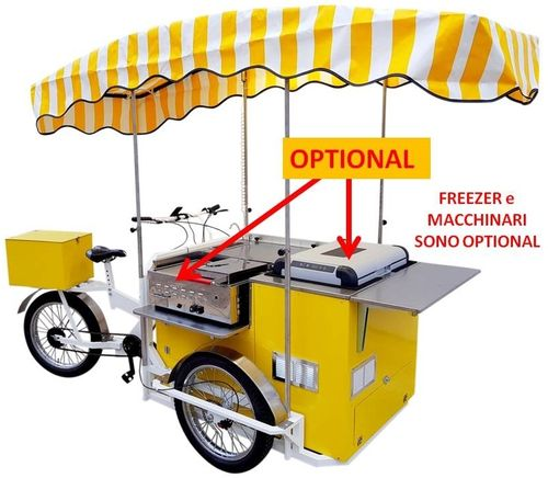 STREET FOOD BIKE QUADRA BASIC su ATTILA
