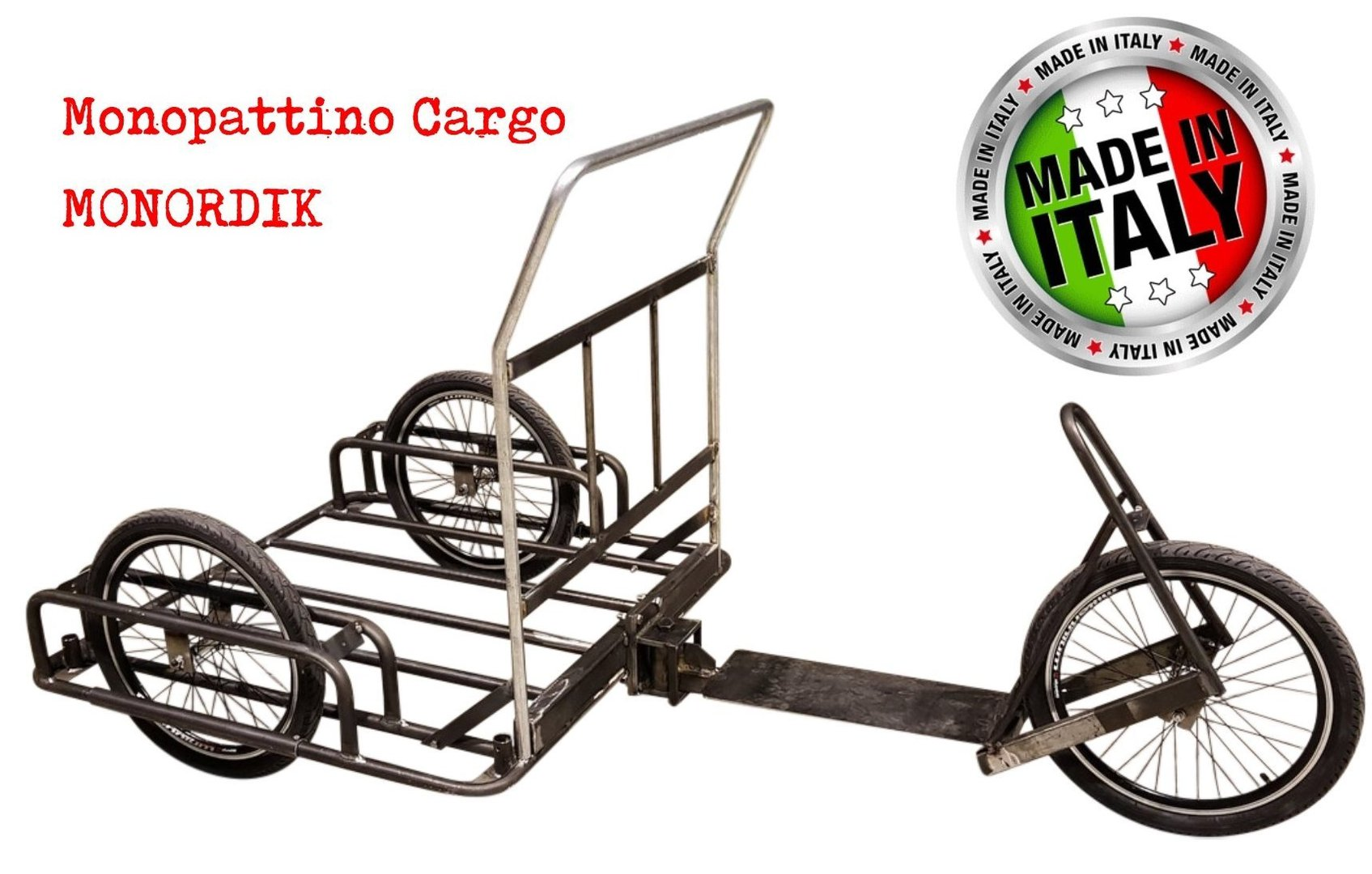 Monordik Stainless Steel - Cargo Moped