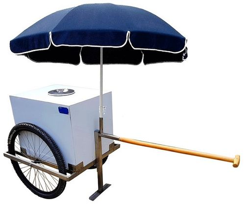 CAMILLO LITTLE BEACH ICE CREAM AND DRINK TROLLEY