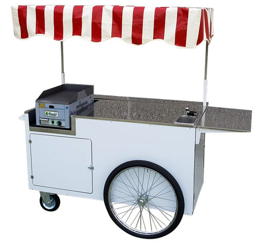 PUSH CARRELLO A SPINTA STREET FOOD