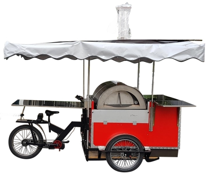 PIZZA BIKE TRICICLO ROMA