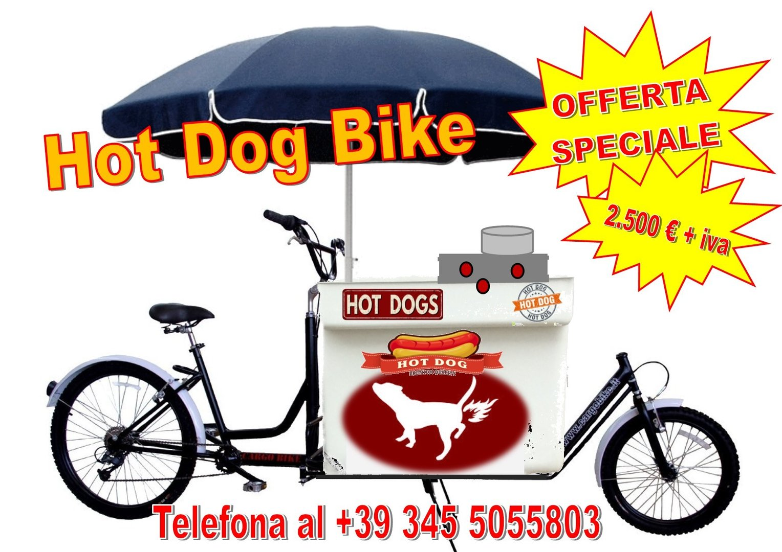 HOT DOG WAGON BIKE