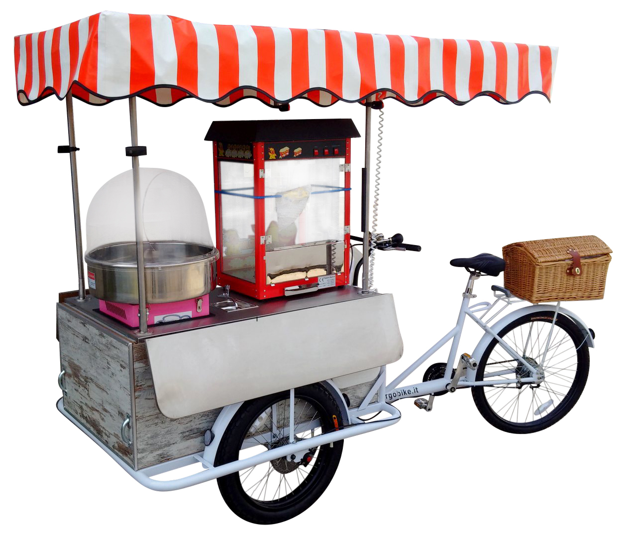 Carretto_Zucchero_Filato_e_Pop_Corn_Cargo_Bike_Triciclo_1