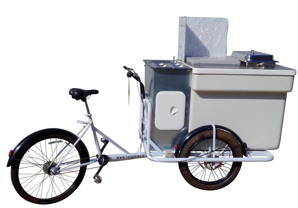 Hot dog bike tricicli cargo bike per la vendita di hot for Cucinare hot dog