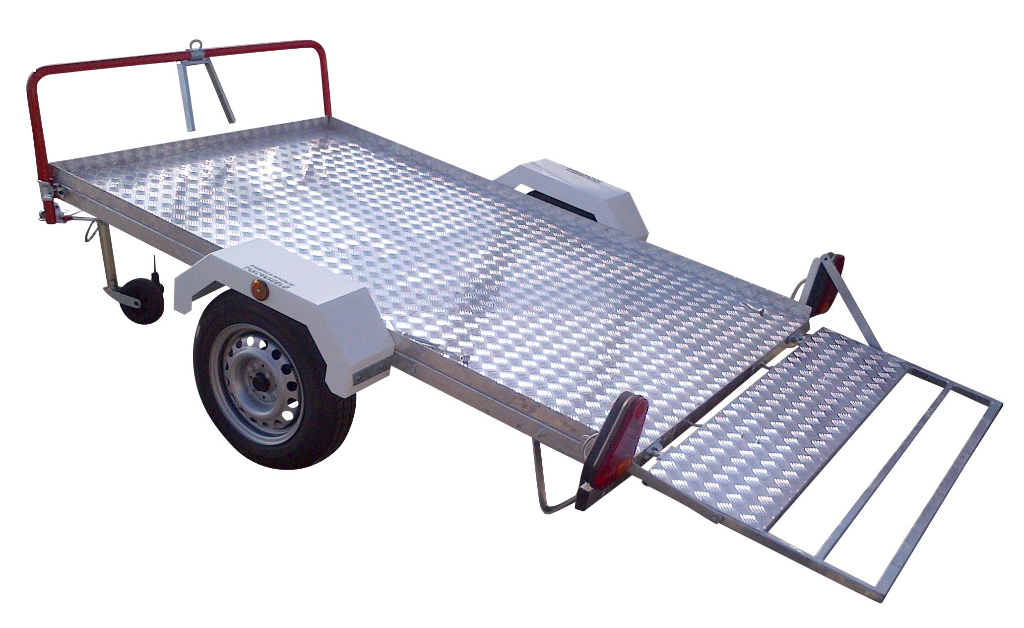 Rimorchio porta triciclo per auto per spostare i tricicli for 2 costo aggiuntivo garage per auto